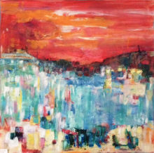Busy Harbour Sylvia Sandwith<br /><br />SOLD