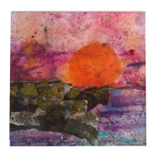 St Ives Sunset Sylvia Sandwith
